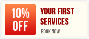 10% off on first pest control service